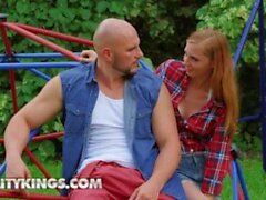 'RealityKings - Sexy Redhead Ava Parker Gets Drilled By A Monster Cock In The Outdoors'