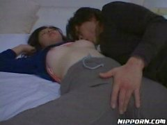 Sleeping Asian chick used