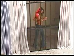 Veronica Zemanova Teases From Behind Bars!