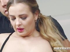 'Private Com - Titty Rocked Busty Candy Alexa Is Butt Banged