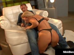 Penthouse Pet Nikki Benz Gets Cum On Her Big Tits!
