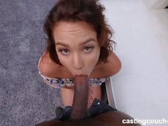 Mignon PAWG Enjoys Her First Black Guy Pendant Audition