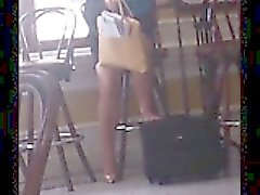 Compilation of candid camera videos following sexy girls in
