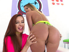ALL ANAL Ass to mouth fun with Brooklyn and Vanna