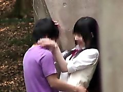 Japanese Schoolgirls Fucking In Public